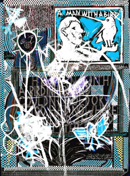 Digital Art - Evolution Of Birds Poster 17 by Artist Dot
