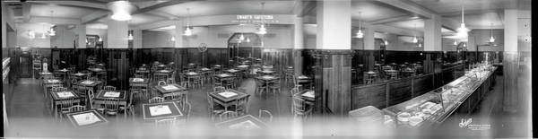 Wall Art - Photograph - Ewarts Cafeteria, 13th And F Streets by Fred Schutz Collection