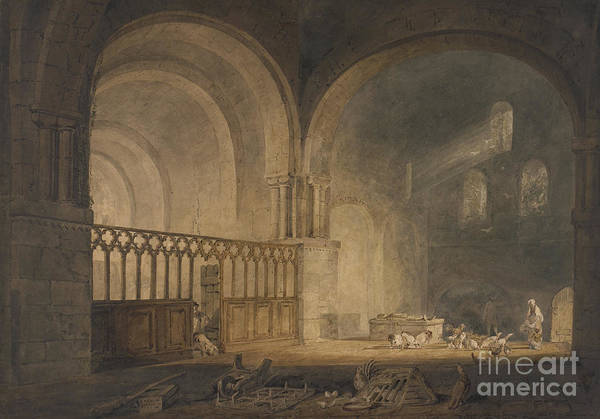 Wall Art - Painting - Ewynny Priory by Joseph Mallord William Turner