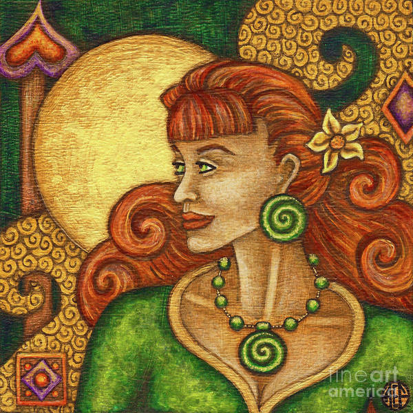 Painting - Exalted Beauty Claire by Amy E Fraser