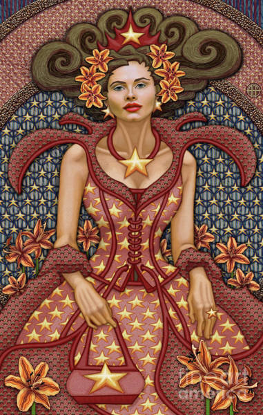Painting - Exalted Beauty Estella by Amy E Fraser
