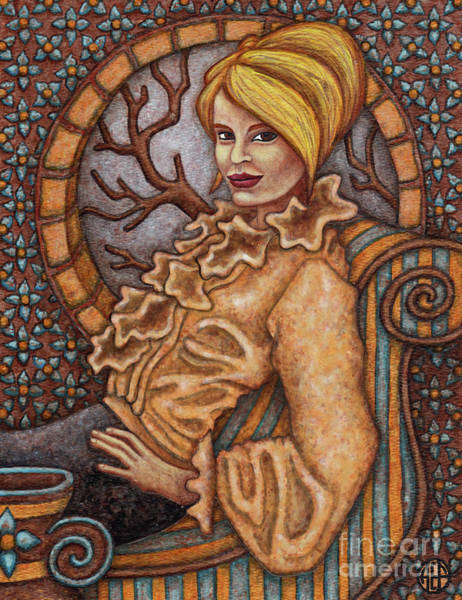 Painting - Exalted Beauty Gianna by Amy E Fraser