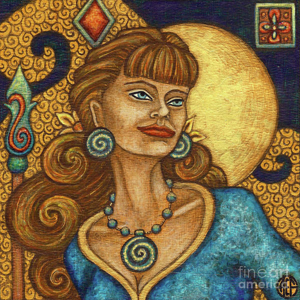 Painting - Exalted Beauty Jane by Amy E Fraser