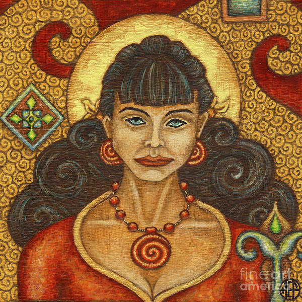 Painting - Exalted Beauty Lucy by Amy E Fraser