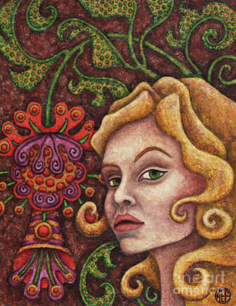 Painting - Exalted Beauty Olivia by Amy E Fraser