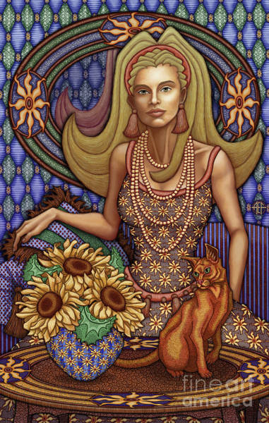 Painting - Exalted Beauty Peyton by Amy E Fraser