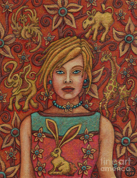 Painting - Exalted Beauty Saffron by Amy E Fraser