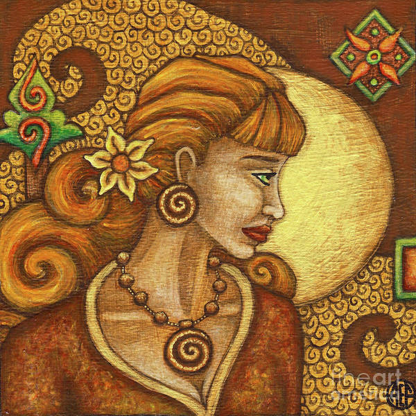 Painting - Exalted Beauty Tegan by Amy E Fraser