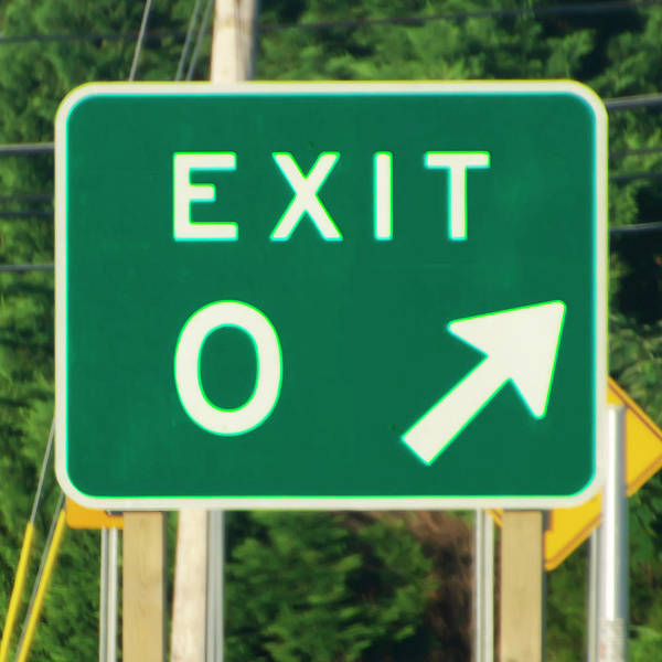 Wall Art - Photograph - Exit Zero - Cape May New Jersey by Bill Cannon