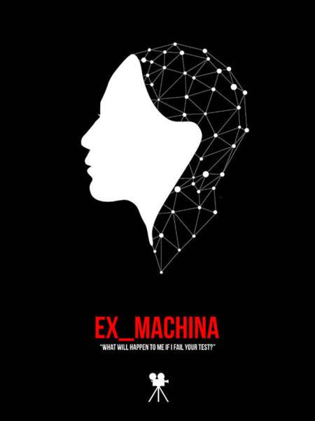Wall Art - Digital Art - Ex_machina by Naxart Studio