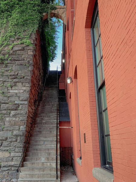 Exorcist Stairs Beauty Art Print