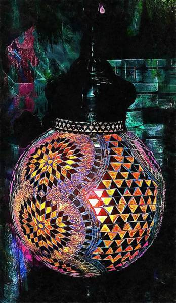 Photograph - Exotic Oriental Mosaic by Dorothy Berry-Lound