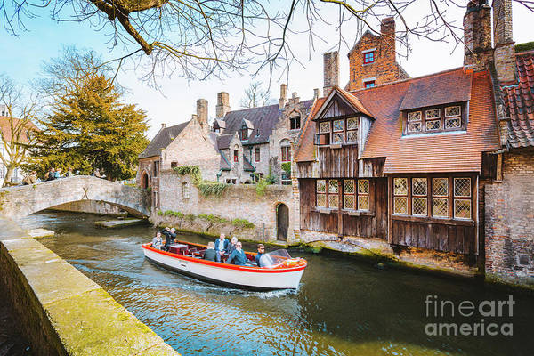 Wall Art - Photograph - Exploring Brugge by JR Photography
