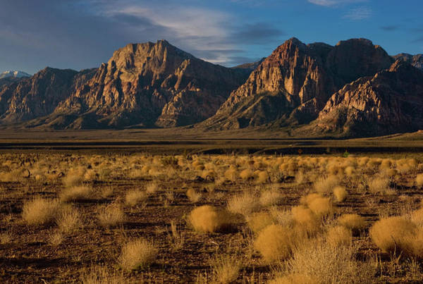 George Canyon Photograph - Exploring Nevadas Red Rock Canyon by George Rose