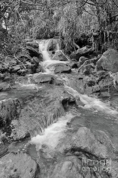 Wall Art - Photograph - Exploring Queda Do Vigario Waterfall In Monochrome by Angelo DeVal