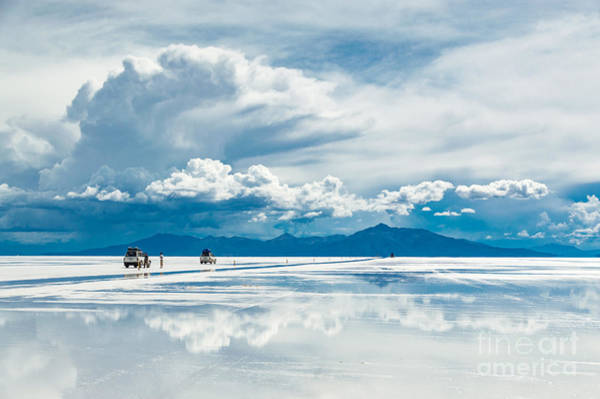 Remote Photograph - Exploring The Salar De Uyuni With by Benedikt Juerges