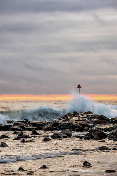 Photograph - Explosive Sea 1 by Jeff Sinon