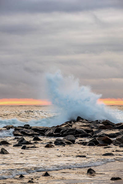 Photograph - Explosive Sea 3 by Jeff Sinon