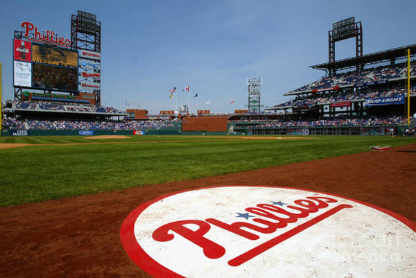 Photograph - Expos V Phillies by Jamie Squire
