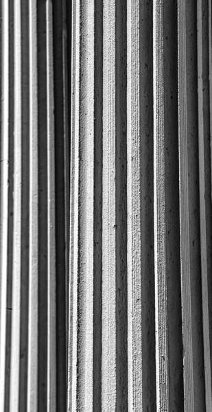 Photograph - Exterior Columns by Robert Ullmann