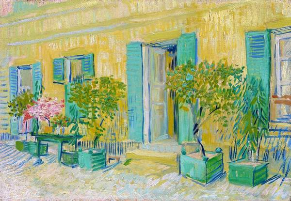 Exterior Painting - Exterior Of A Restaurant In Asnieres - Digital Remastered Edition by Vincent van Gogh