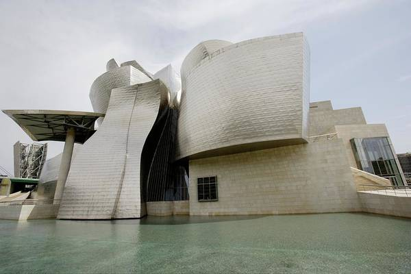 Guggenheim Photograph - Exterior View Of Guggenheim Museum by Altrendo Travel