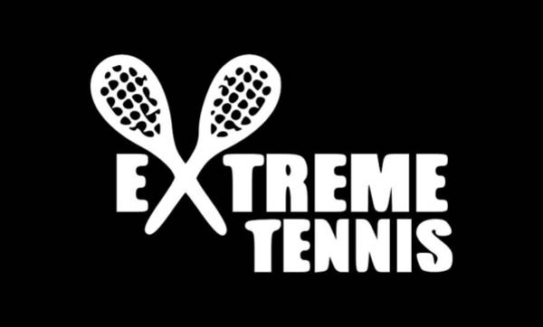 Backhand Digital Art - Extreme Tennis Players1 by Tee Titan