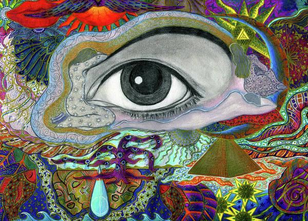 Painting - EYE by Ellie Perla