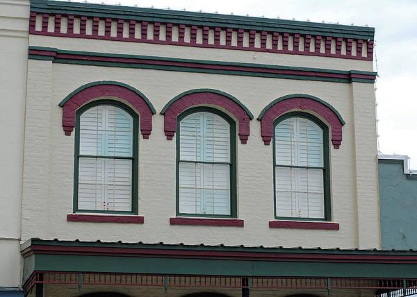 Photograph - Eyebrow Windows In Bellville Texas by Connie Fox