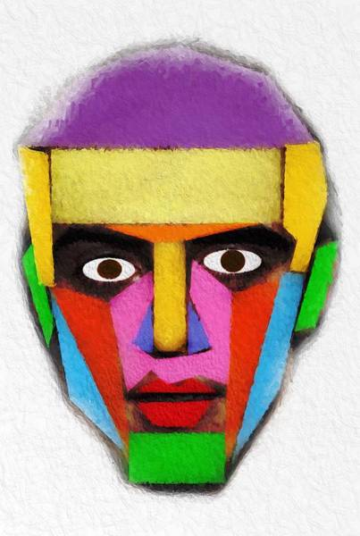 Wall Art - Mixed Media - Eyes Behind A Mask by Steve K