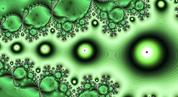 Digital Art - Eyes Left Green by Don Northup