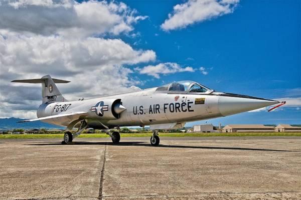 Wall Art - Photograph - F-104 Starfighter by Hayman Tam