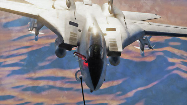 Painting - F-14 Tomcat - 12  by Andrea Mazzocchetti