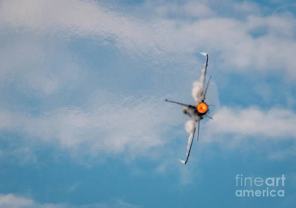 Photograph - F-16 Exhaust by Tom Claud