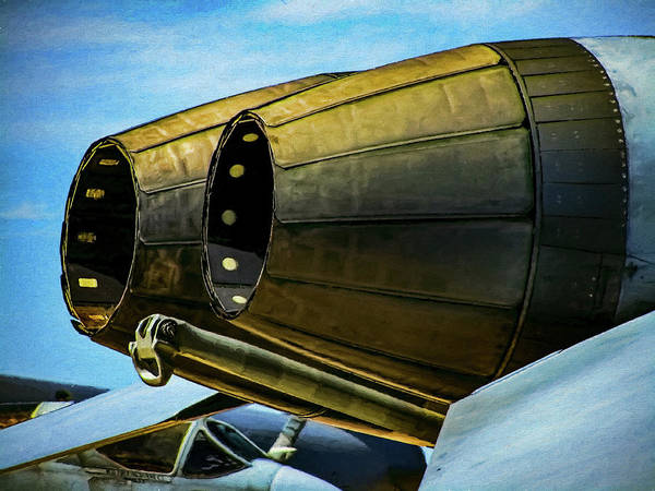 Exhaust Digital Art - F/a-18 Hornet Exhaust by Dale Jackson