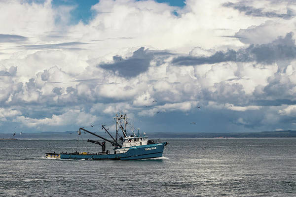 Photograph - F/v Tani Rae Under Stormy Skies by Lost River Photography