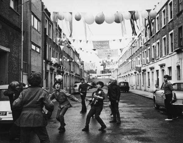 Photograph - Fa Cup Fever by Michael Webb