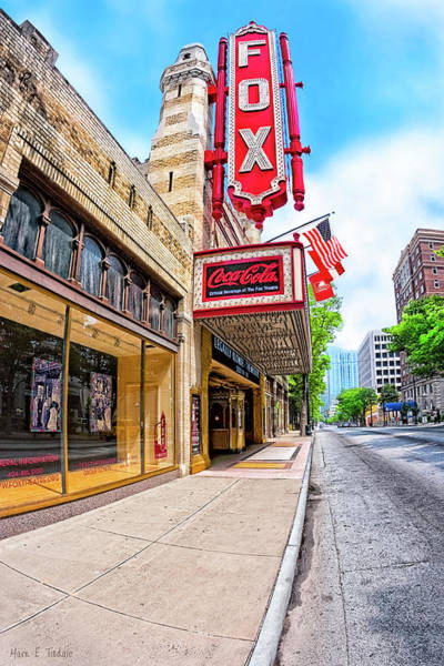 Photograph - Fabulous Fox Theatre On Peachtree by Mark Tisdale