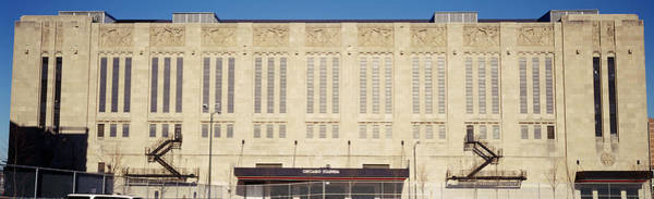 Wall Art - Photograph - Facade Of A Stadium, Chicago Stadium by Panoramic Images