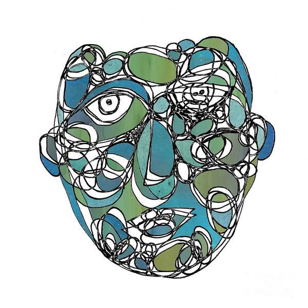 Face Cerclisme - V15e Art Print
