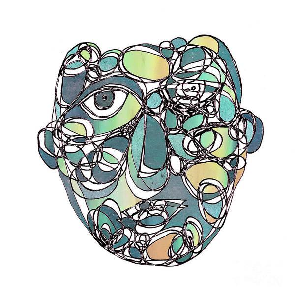 Face Cerclisme - V25e Art Print