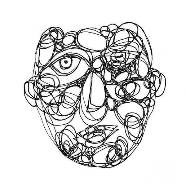 Face Cerclisme - V2a Art Print