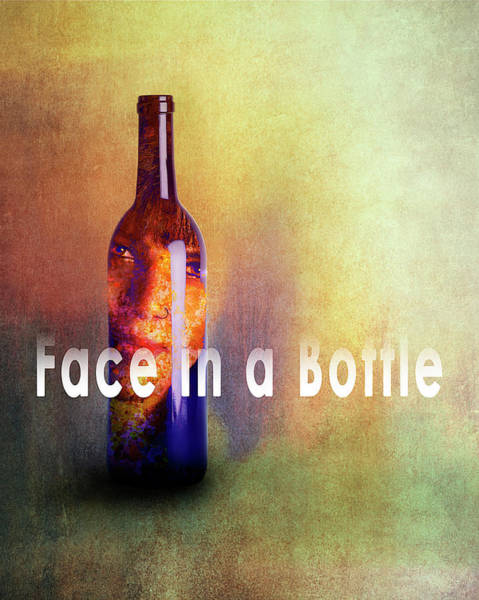 Photograph - Face In A Bottle by Reynaldo Williams