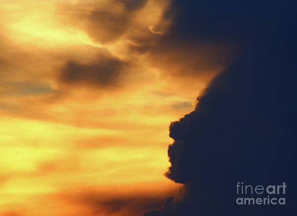 Harker Photograph - Face In The Clouds by Marty Fancy