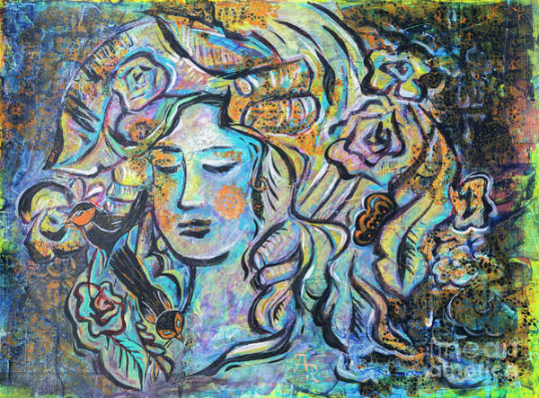 Painting - Face Of Spring by Ariadna De Raadt