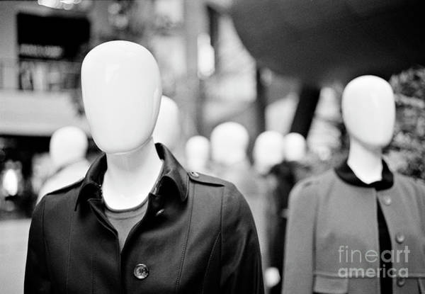 Faceless Photograph - Faceless Society by David Cordner