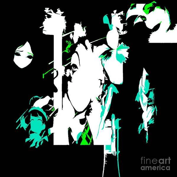 Digital Art - Faces In Shadow by Debra Lynch