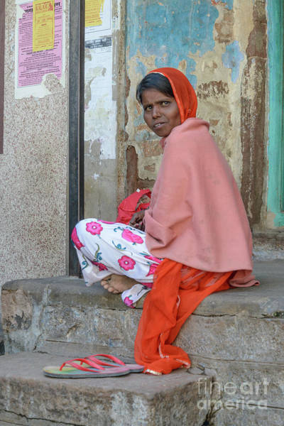 Photograph - Faces Of Jodhpur 07 by Werner Padarin