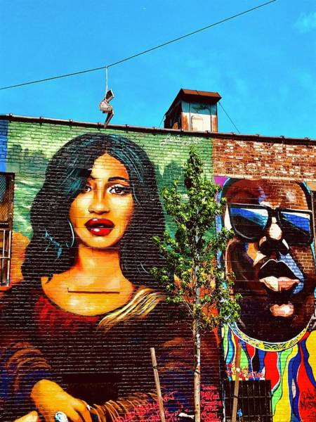 Arte Photograph - Faces On Brooklyn Walls by Funkpix Photo Hunter