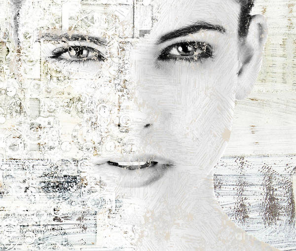 Wall Art - Digital Art - Facing - A1t1b by Variance Collections